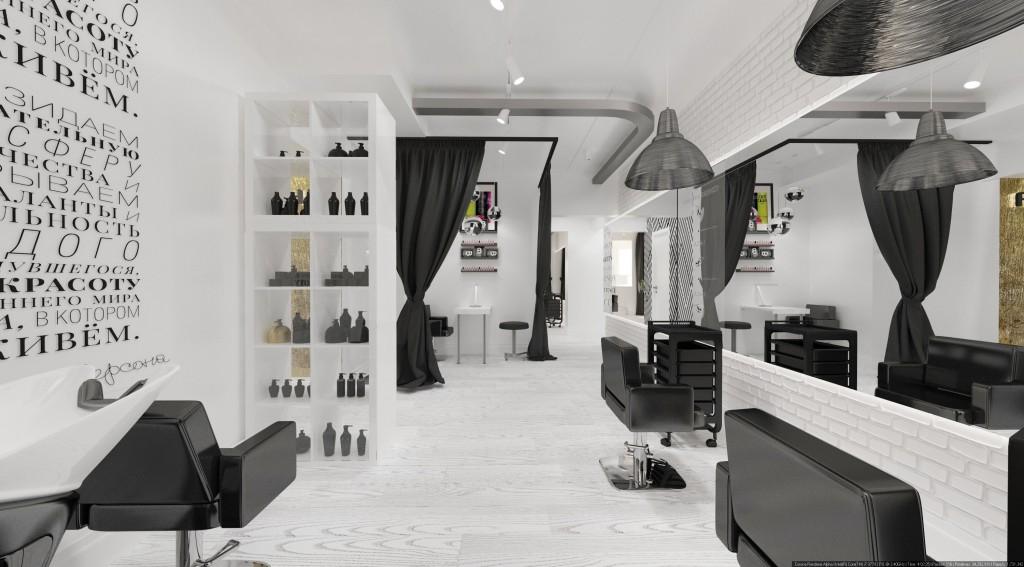 Дизайн-интерьера салона красоты