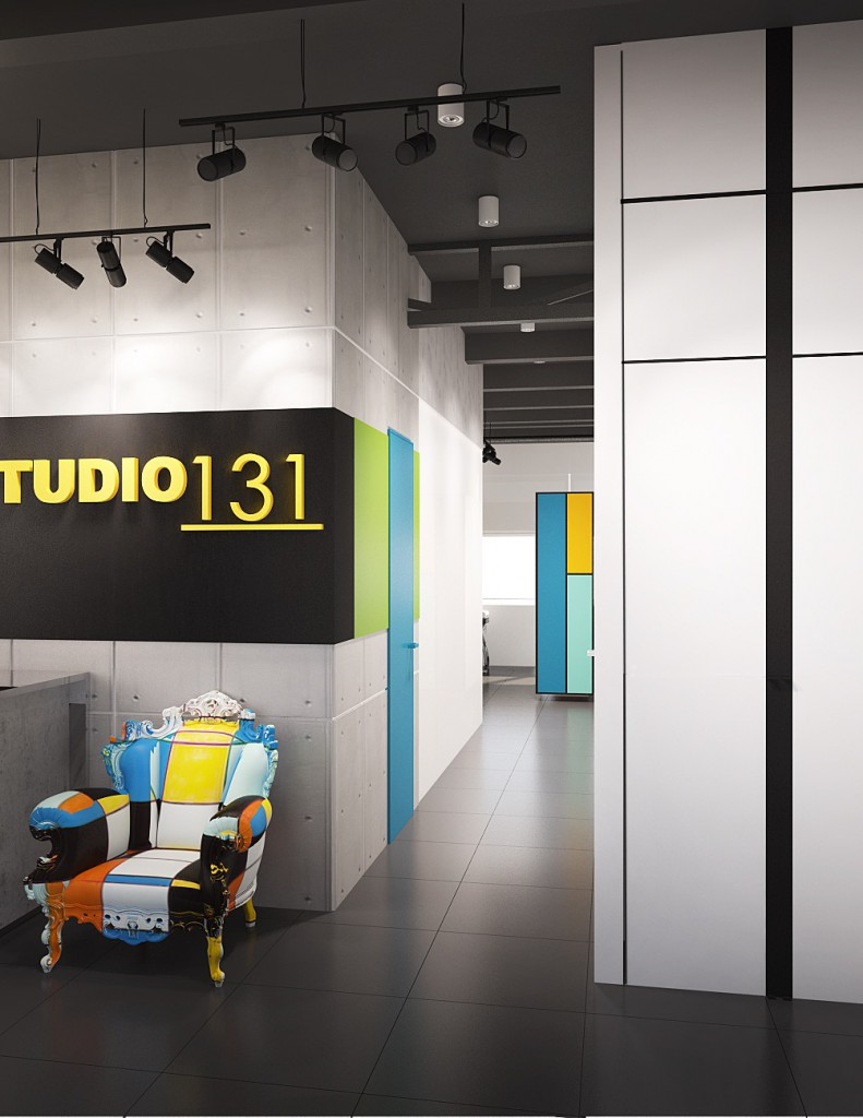Дизайн интерьера салона красоты «Studio 131»