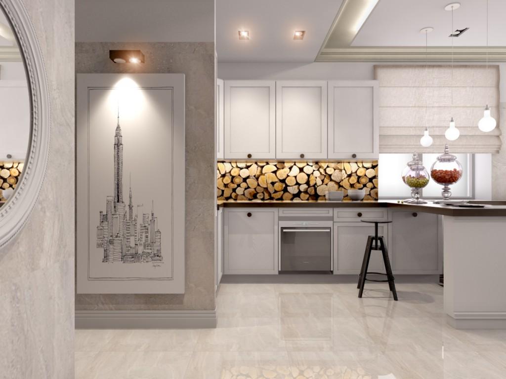 Дизайн интерьера дома в ЖК «Царицыно»