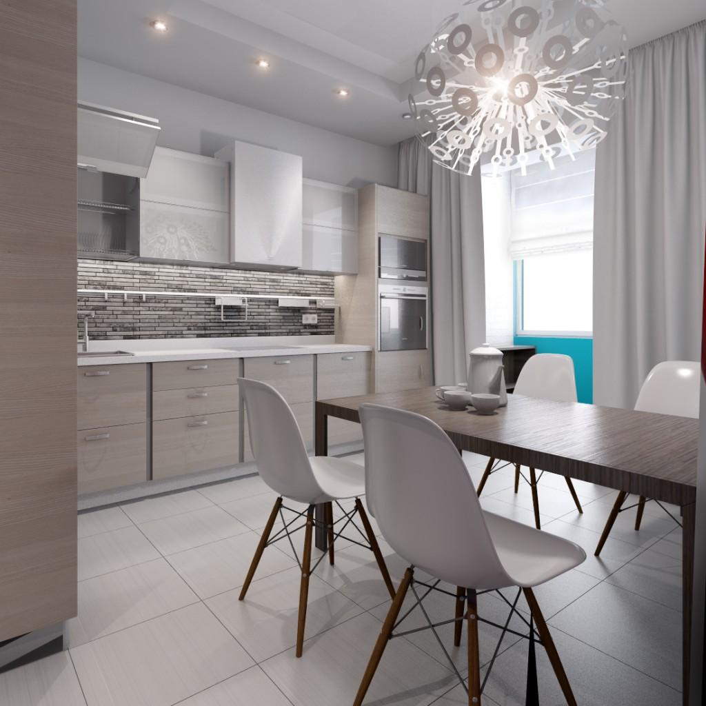 Дизайн интерьера квартиры в ЖК «Царицино»