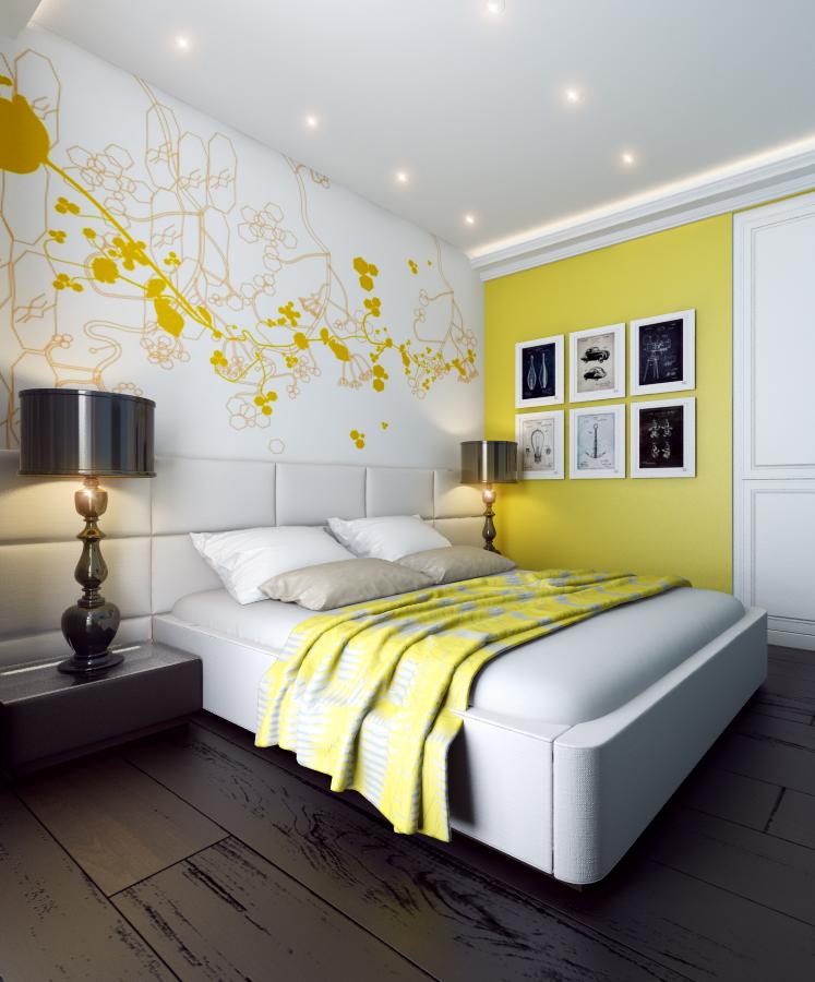 Дизайн интерьера дома (спальня)