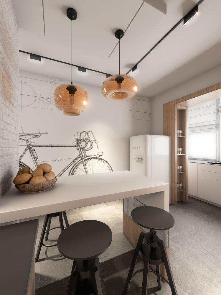 Дизайн квартиры (кухня)