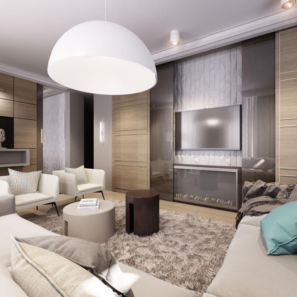 Дизайн квартиры (гостиная)