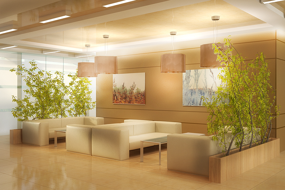 Дизайн интерьера офиса компании «Элар»