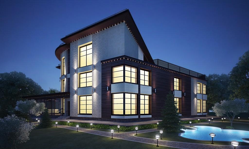 дизайн фасада цена