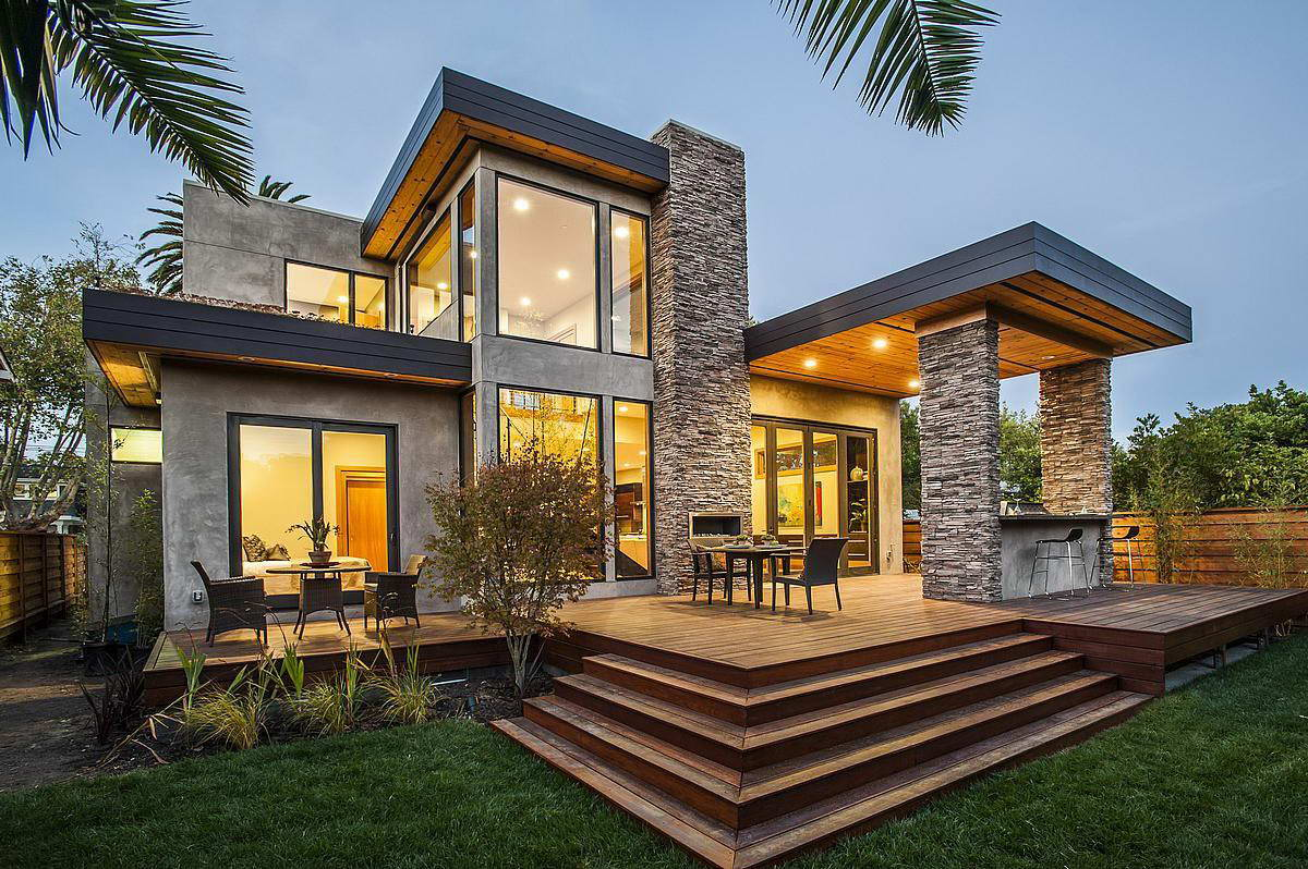 Дома в современном стиле фото