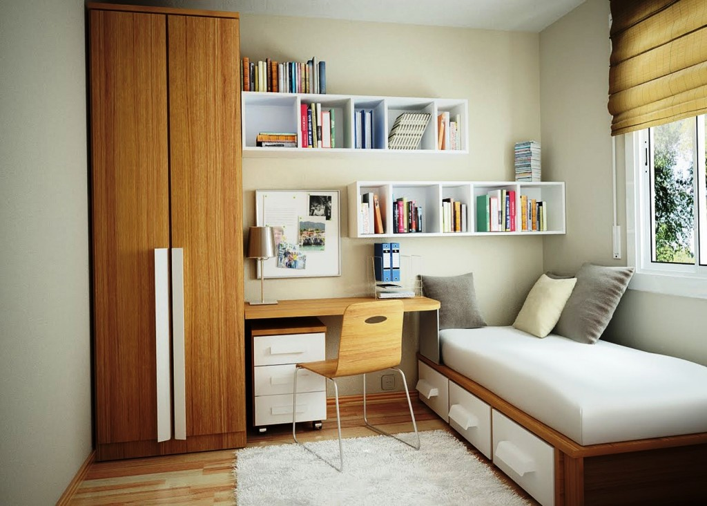 Дизайн маленьких помещений жилых и офисных пространств - Фото