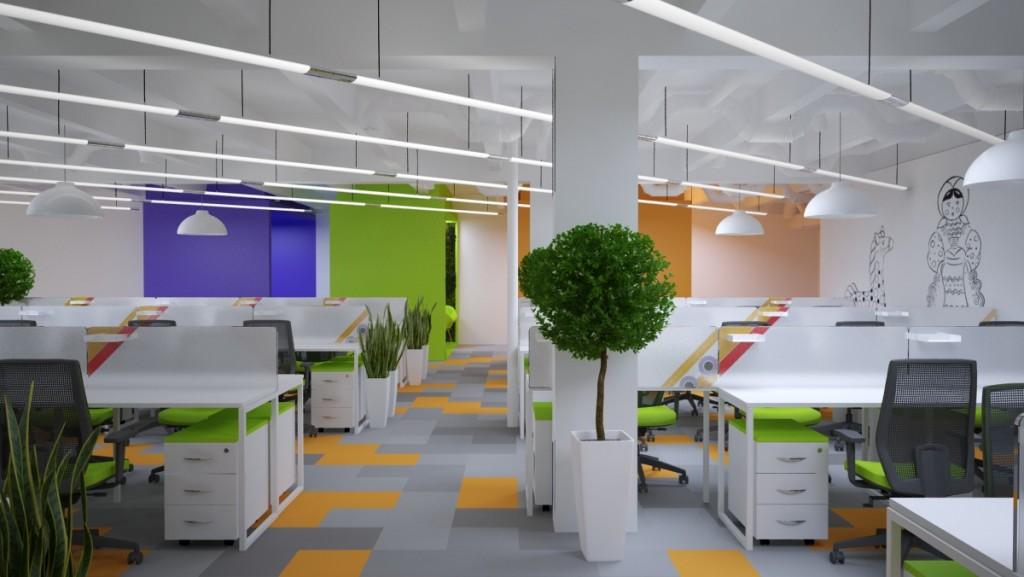 Дизайн офиса цена