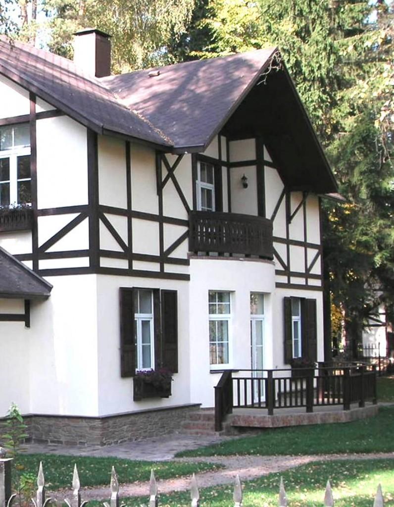 дизайн отделки фасада дома