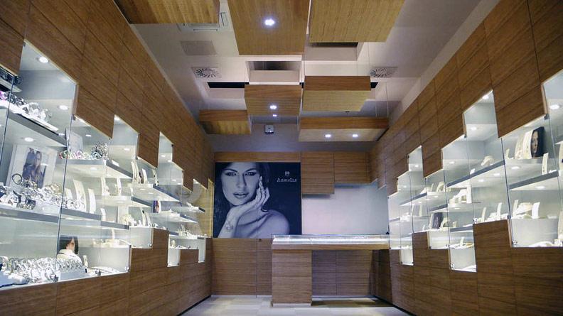 дизайн ювелирного магазина