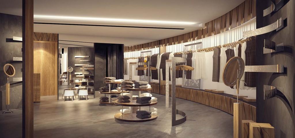 дизайн женского магазина
