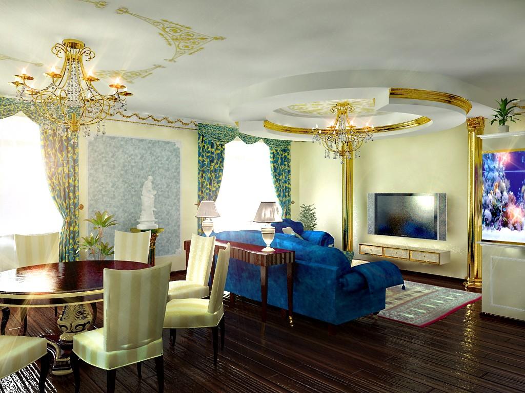 основные стили в дизайне интерьера - классицизм