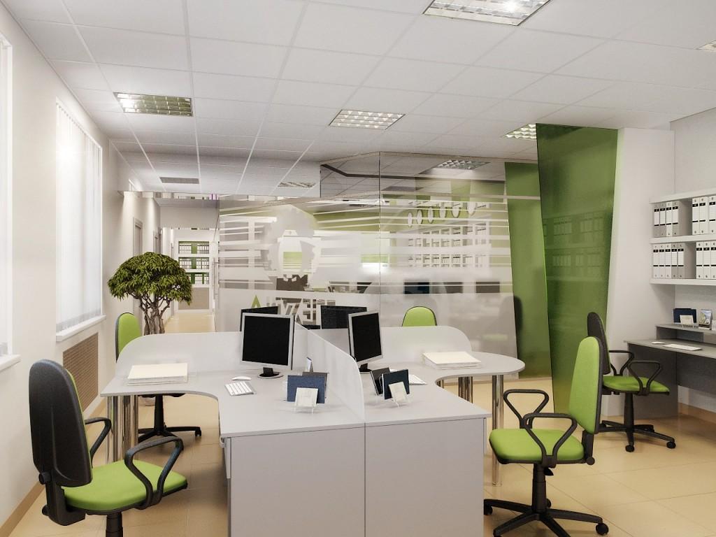 особенности дизайна офиса
