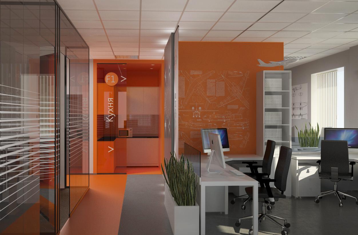 проект небольшого офиса