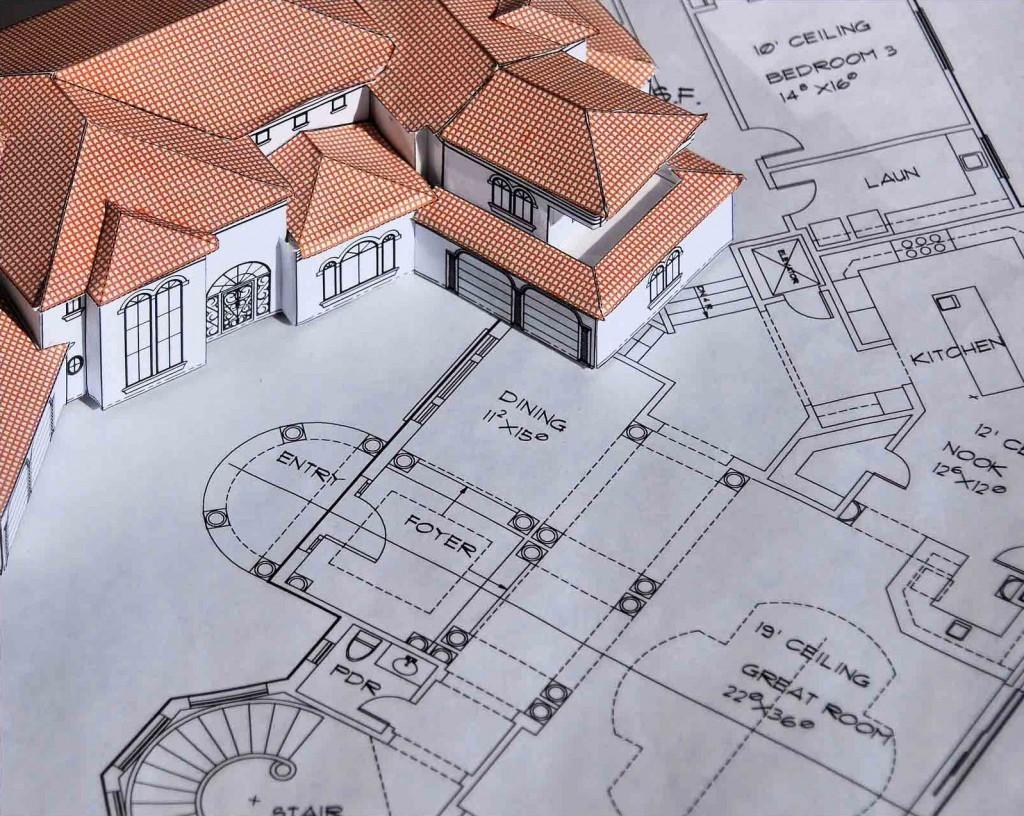 разработка дизайн проекта помещения