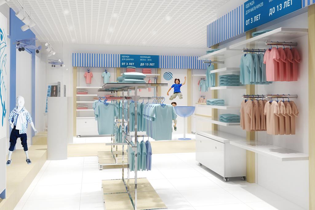 разработка дизайна магазинов