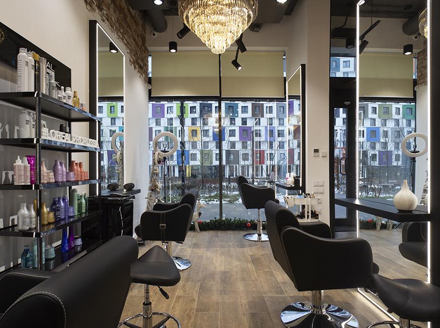 Профессиональное оформление салона красоты - Фото