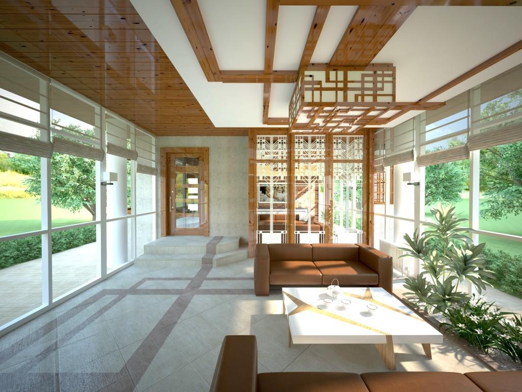 дизайн-проект интерьер частного дома от бюроснег