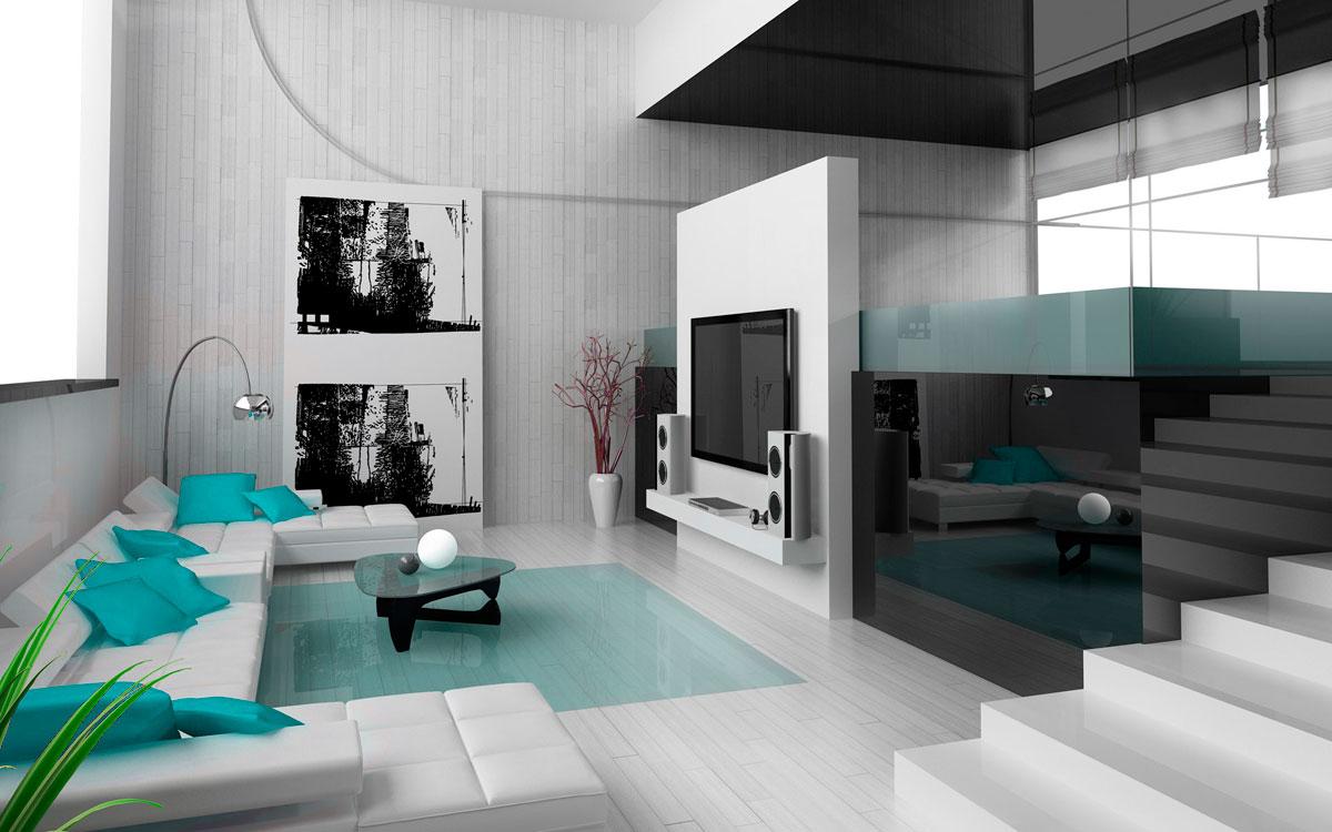 Дизайн дома в стиле хай тек