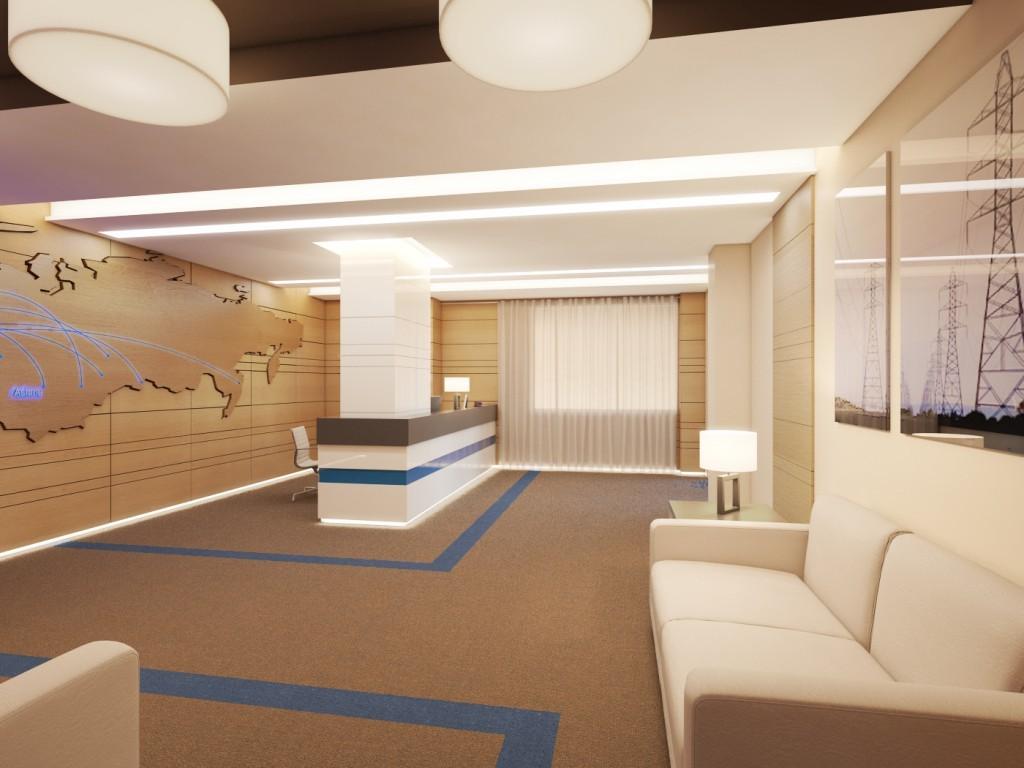 как выполнить дизайн офиса в современном стиле