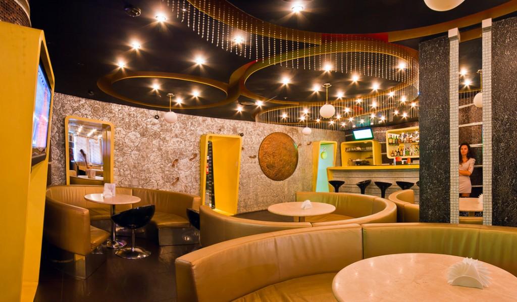 дизайн интерьера кафе баров фото