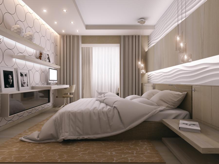 дизайн интерьера комнат квартиры