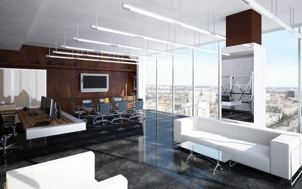 Дизайн кабинета в офисе от БЮРОСНЕГ - Фото
