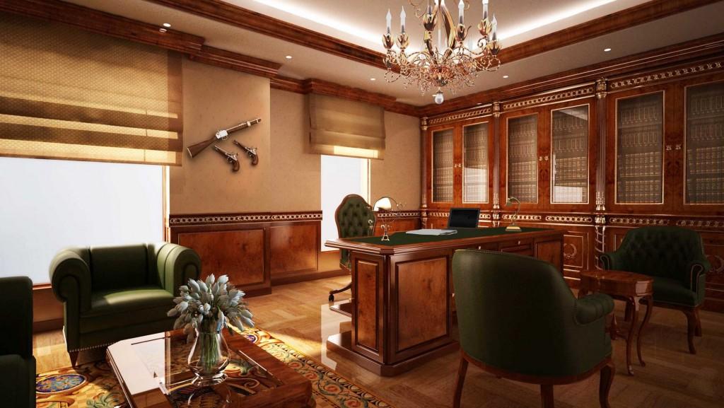 дизайн интерьеров вип офисов