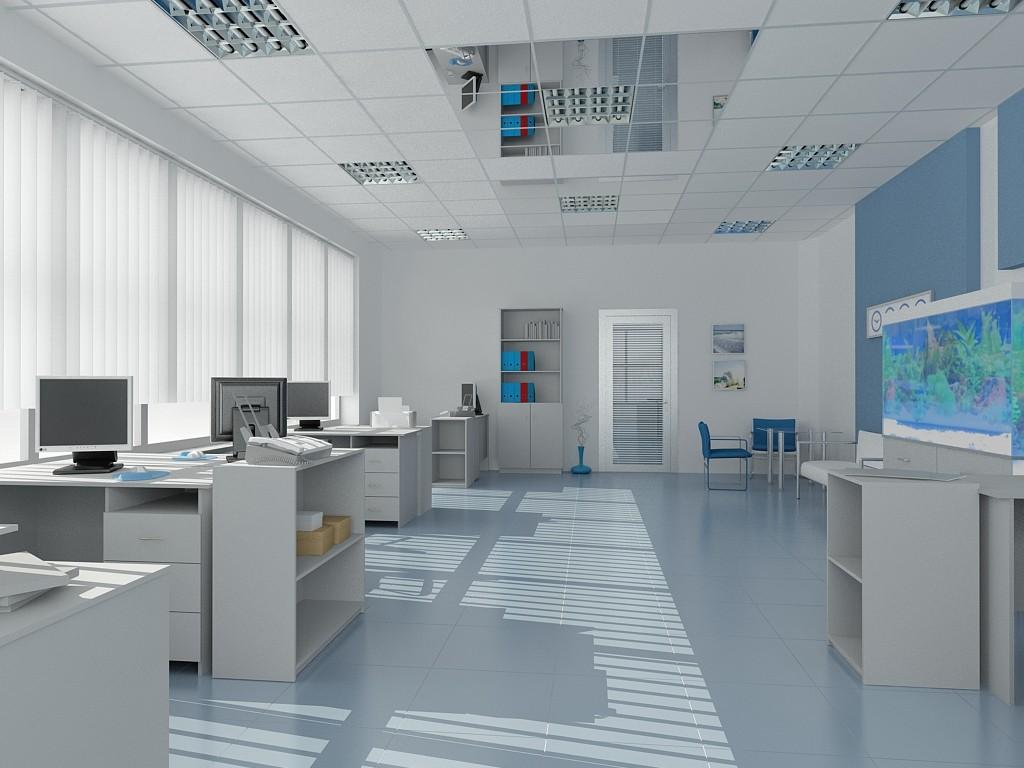 Внутренняя отделка офисных помещений и особенности ее выполнения - Фото