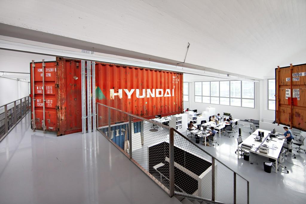 Разработка дизайн проекта офиса логистической компании - Фото