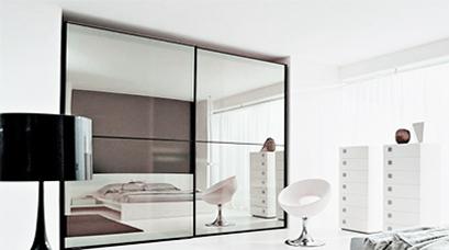Зеркальные<br /> перегородки