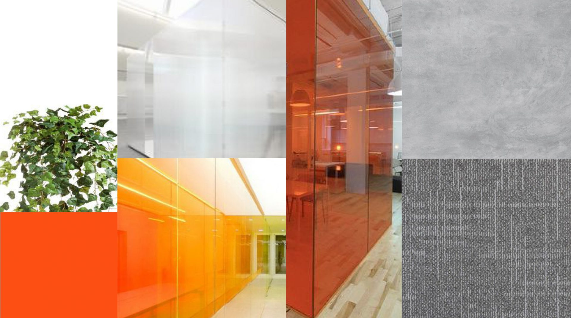 Материалы для проекта интерьера офиса Gemalto