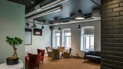 Проект офиса на Садовнической улице