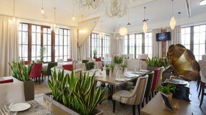 Ресторан в усадьбе «Тимохово-Салазкино».