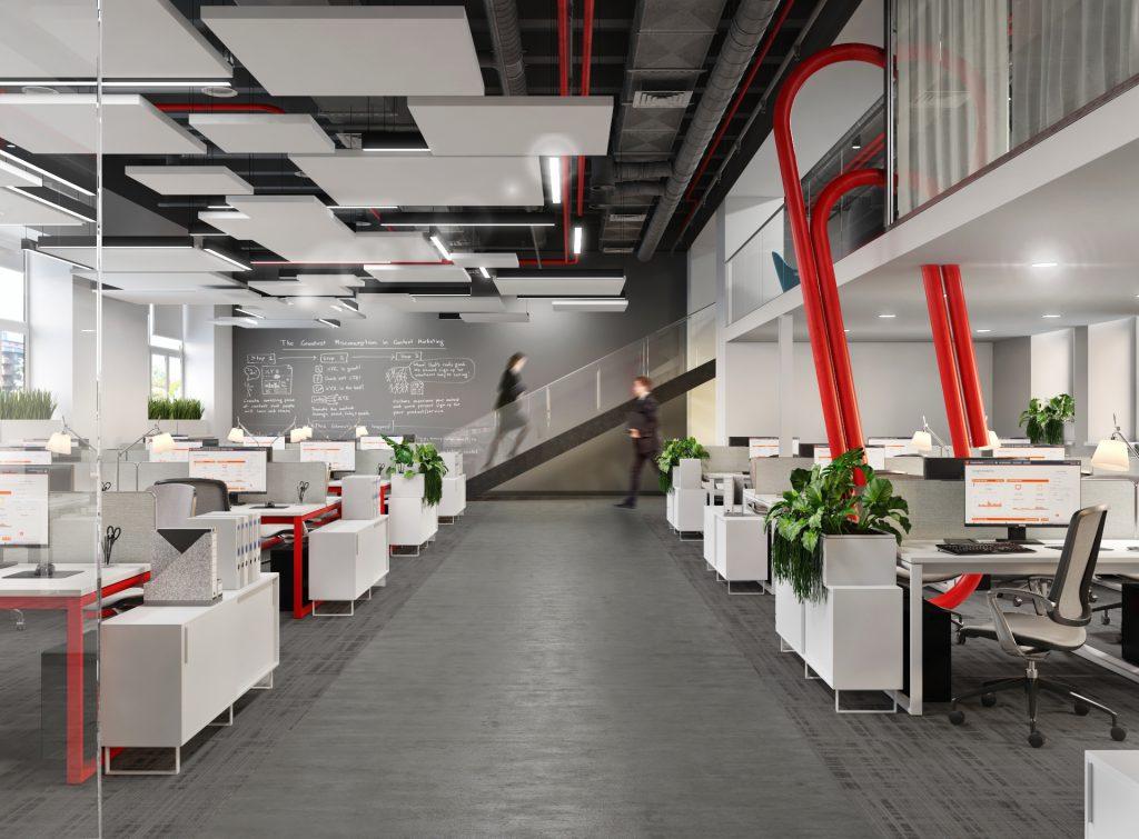 Проект офиса Комус