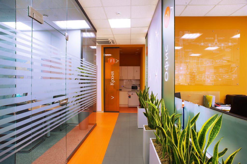 Проект интерьера офиса Аэротранскарго