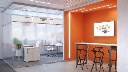 Проект офиса компании «Gemalto»