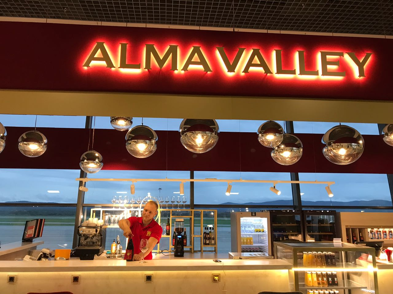 Дизайн проект интерьера бара Alma bar