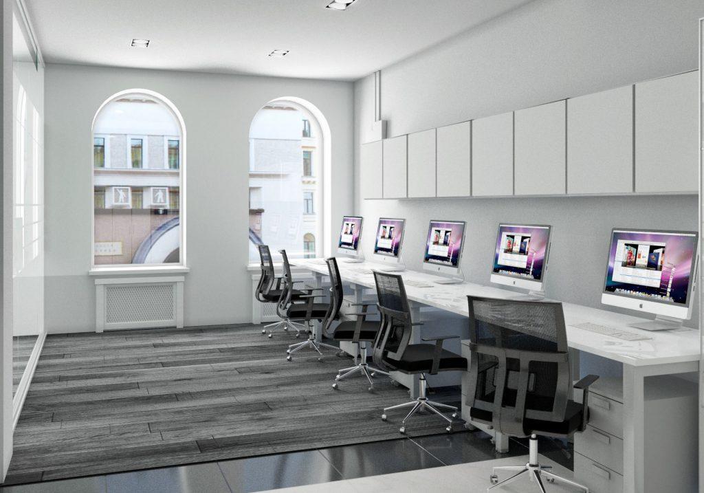 Отделка офисных помещений и ее составляющие - Фото