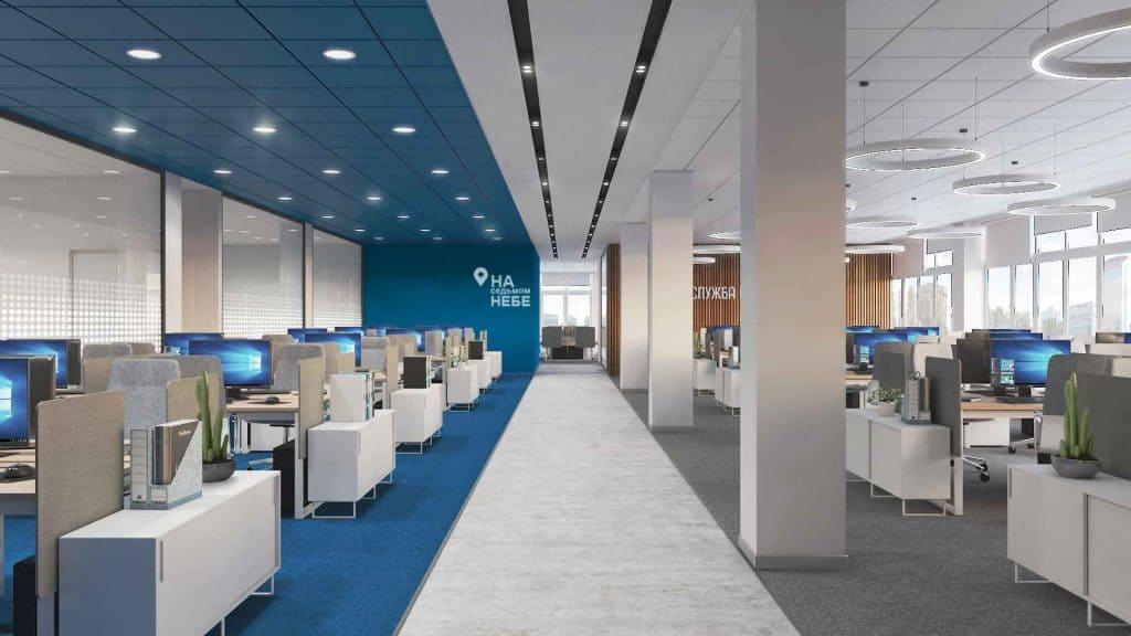 Индивидуальный дизайн интерьеров VIP офисов в Москве - Фото