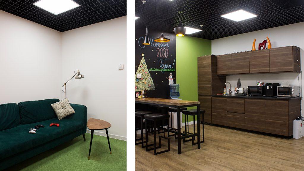 Качественный дизайн маленького офиса – главный шаг на пути к успеху - Фото