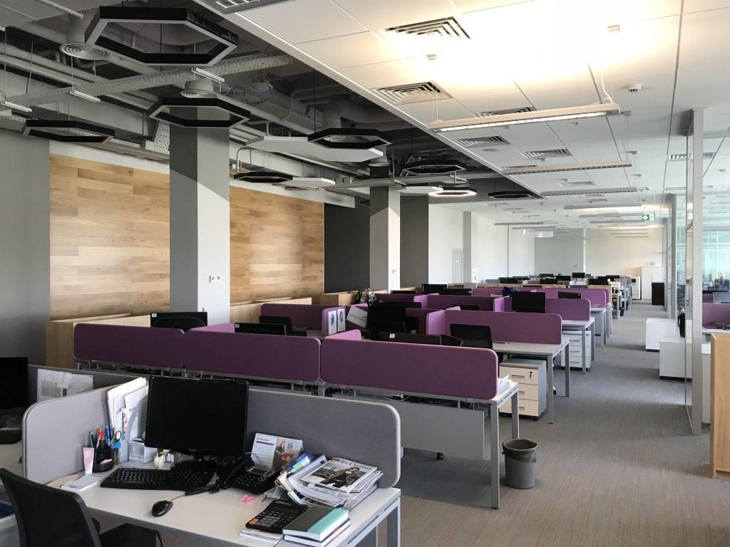 Дизайн офисных пространств Open Space и его особенности - Фото