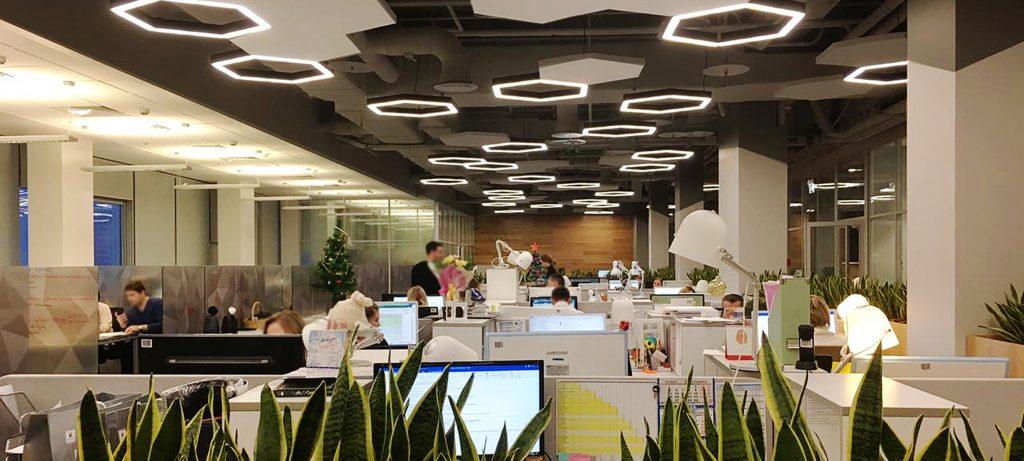 Дизайн-проектирование офиса и типы оформления пространства - Фото